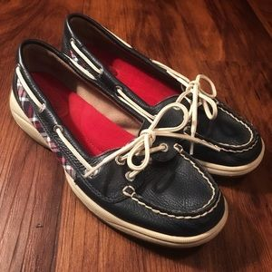 Sperry Navy Skimmer Boat Shoes